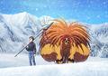 TVアニメ「うしおととら」、白馬にあるスキー場4施設とコラボ! 1/1スケール「獣の槍」やコラボメニューを用意
