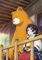 中学生巫女とヒグマの交流アニメ「くまみこ」、2016年4月スタート! キービジュアルや追加キャストも発表