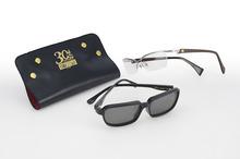 「シティーハンター」仕様のメガネに新モデル! コルトパイソン357マグナムのグリップや海坊主サングラスを再現