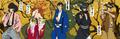 「ルパン三世」をモチーフにした「浮世絵」が登場! 伊勢丹のイベントにて先行販売も開始!