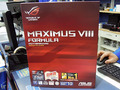 イルミネーションLED搭載のゲーマー向けZ170マザー「MAXIMUS VIII FORMULA」がASUSから!