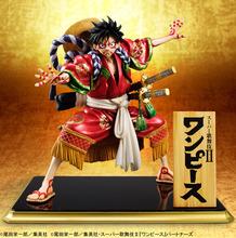 ワンピース、歌舞伎コラボのルフィがフィギュアに! メガハウスから描き下ろしの大見得ポーズで登場
