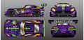 エヴァンゲリオンレーシング、2016年は3年ぶりにSUPER GTにも参戦! メルセデスの新型AMG GT3がベースの初号機マシンで