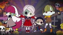 オリジナルアニメ「ゾンミちゃん」、ドジなゾンビ女子役に小倉唯! 恋するゾンビのハートフルスプラッタコメディ