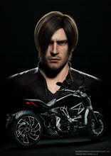 バイオハザード、2017年内公開の新作フルCGアニメ映画のタイトルが決定! イタリア老舗バイクメーカー・Ducatiとのコラボも