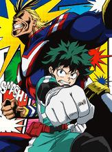 春アニメ「僕のヒーローアカデミア」、CDアニメ盤のジャケットを公開! まるでコミックのようなデザイン