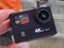 フロント液晶搭載の4K撮影対応アクションカメラ「H8R」が登場!