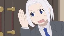 夏アニメ「アルスラーン戦記 風塵乱舞」、ショートアニメ第3話を公開! 現代の企業戦士となり、健全なリーマンライフを目指す
