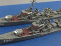 """「ハイスクール・フリート」、航洋艦""""晴風""""を1/700スケールでキット化! 同型艦2隻セット、大艦長・五十六のフィギュアも"""