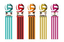 高校バレーアニメ「ハイキュー!!」第3期、10月スタート決定! 「仙台七夕まつり」にオリジナル吹流しが登場