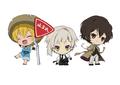 TVアニメ「文豪ストレイドッグス」、青森を代表する夏祭りとコラボ! キャラクターねぷたを運行