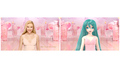 """初音ミク、スカーレット・ヨハンソンと美髪で""""競演""""! ヘアケアブランド「LUX」が新CMに起用"""