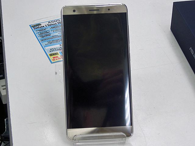 6GBメモリ搭載のハイエンドスマホ ASUS「ZenFone 3 Deluxe」