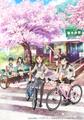 「南鎌倉高校女子自転車部」、TVアニメ化! 第1弾キービジュアルに加えキャスト&スタッフ情報も解禁に