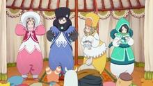 アニメ映画「ポッピンQ」、ヒロインたちが着るゆるふわ衣装の秘密が明らかに! 宮原監督の熱いコメントも到着