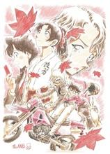 「名探偵コナン から紅の恋歌」、2017年4月公開決定! 注目の新キャラクター・大岡紅葉が描かれた新ビジュアル解禁