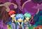 「殺せんせーQ(クエスト)!」、アニメシリーズ化決定! 「暗殺教室」スピンアウト作品のキービジュアルが到着