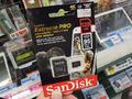 リード95MB/s&容量128GBのmicroSDXCカード SanDisk「SDSQXXG-128G-GN6MA」が発売中