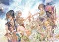 マンガ「クジラの子らは砂上に歌う」、アニメ化決定! 原作者・梅田阿比のコメント&描き下ろしイラストが公開に