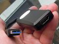 4台まで接続可能なUSB-HDMI変換アダプタ アイネックス「AMC-USBHD」が販売中
