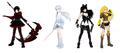 米国発3DCGアニメ「RWBY」、2017年7月よりTV放送スタート! VOLUME1~3日本語版を特別編集