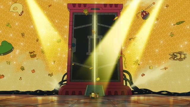 初代どこでもドアの大きさに驚くのび太達